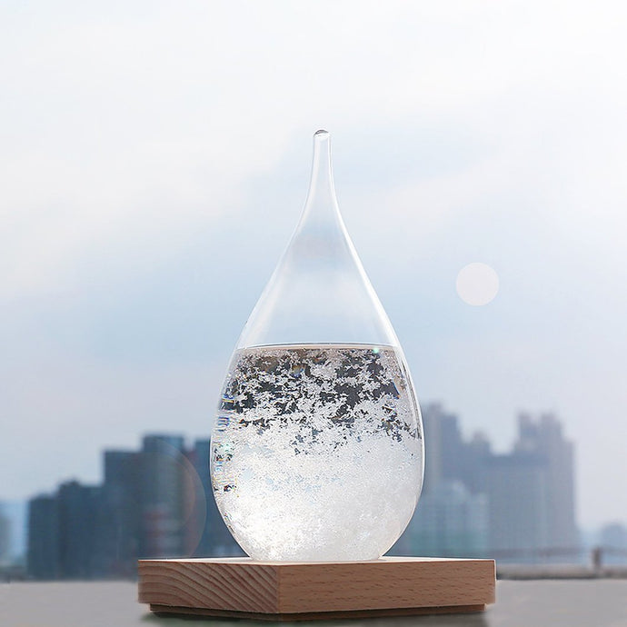 PURE WHITE STORM GLASS-UXORIOUS