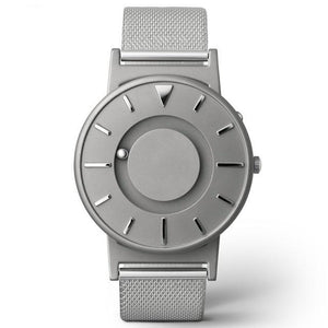 Gunmetal Silver-watch-UXORIOUS