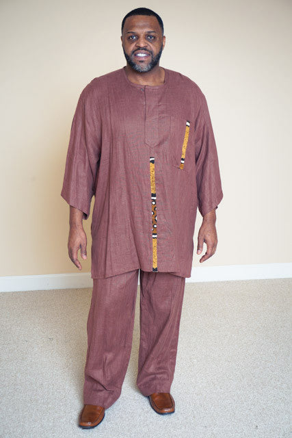 Linen Pants Set- Derek
