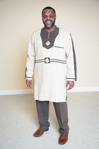 Linen Pants Set - Idris