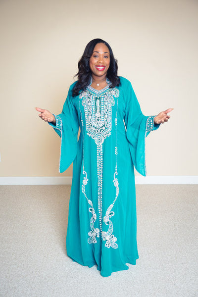 Embellished Dress- Khadijah