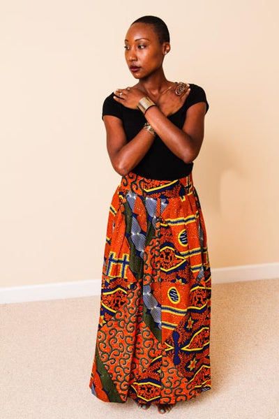 African Print Skirt - Kalisha