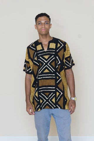 Mudcloth shirt - David