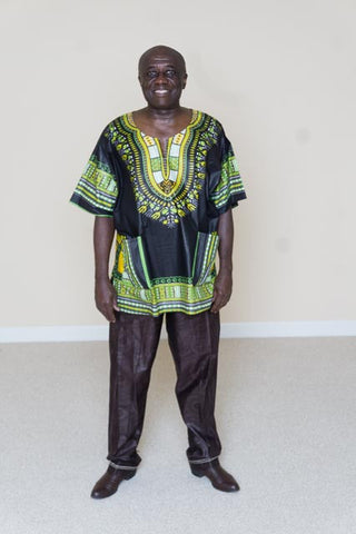 Dashiki shirt- Joe