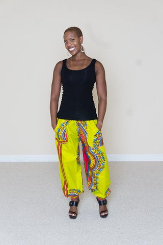 Dashiki Print Pants - Shaniqua