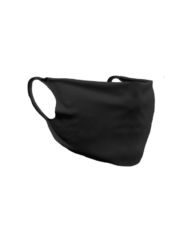 Face Cover Economy Black Non Printed