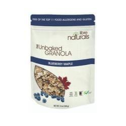 The Unbaked Granola:  Blueberry Maple