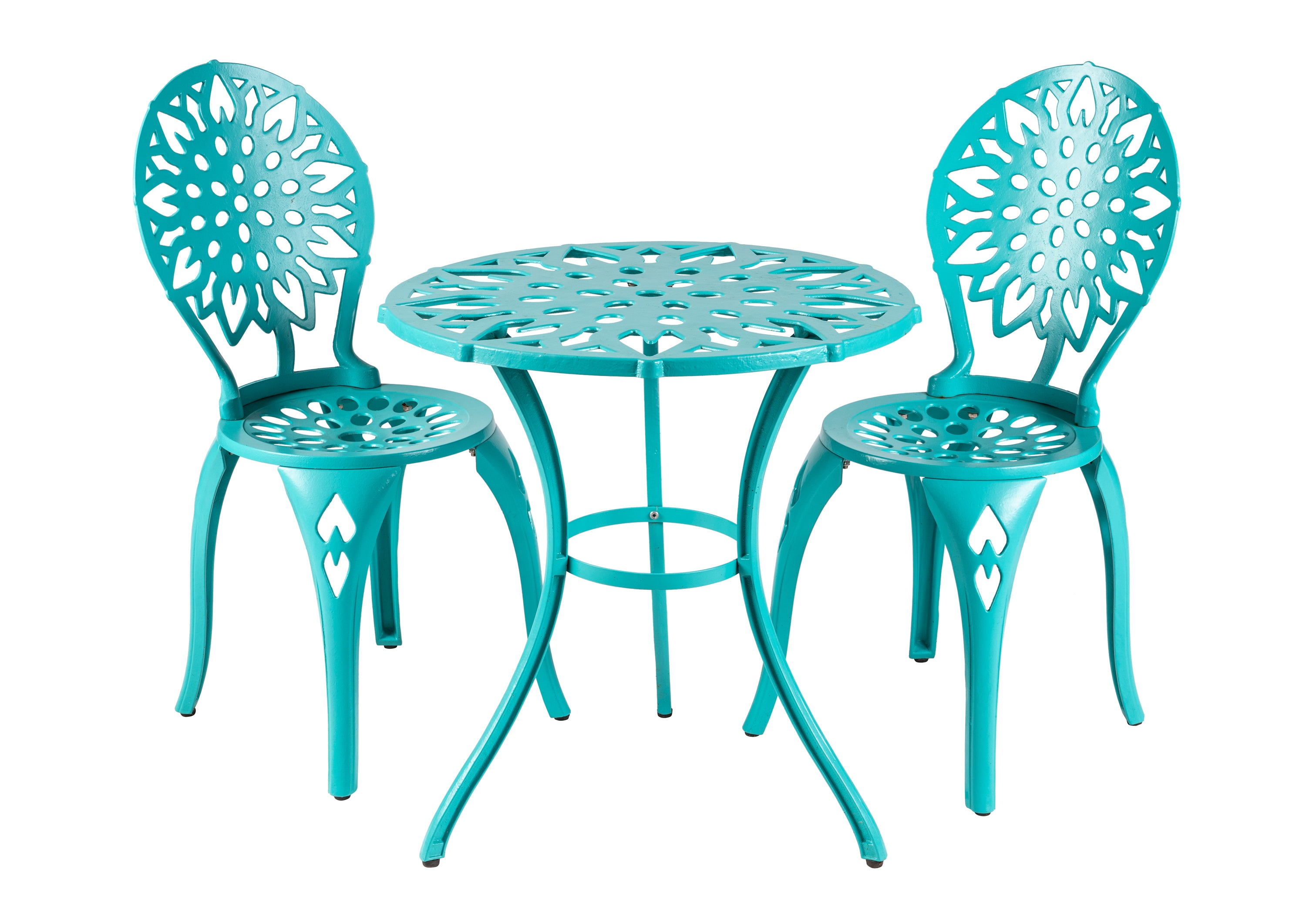 Modern Sunflower Bistro Set
