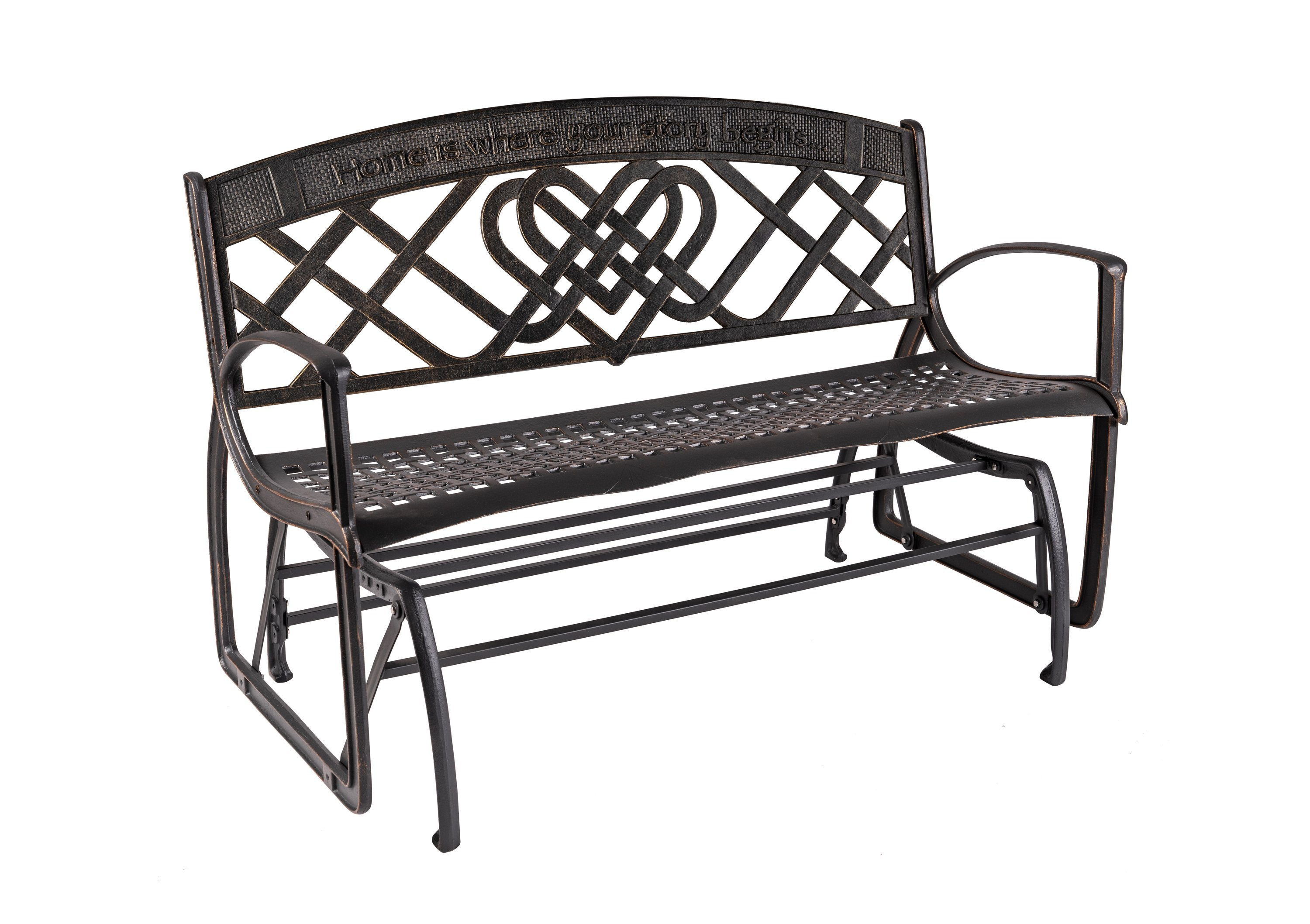 Celtic Glider Bench