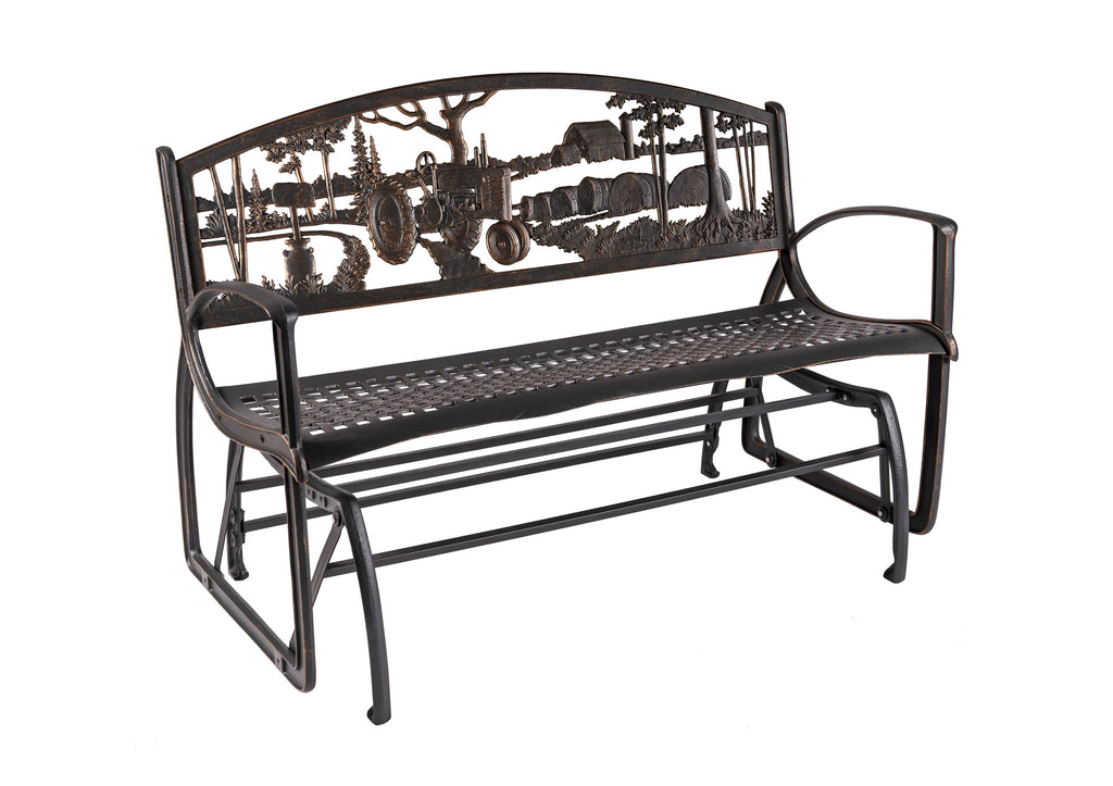 Farmstead Glider Bench
