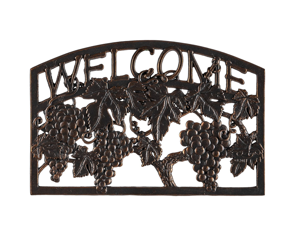 Vineyard Welcome Sign