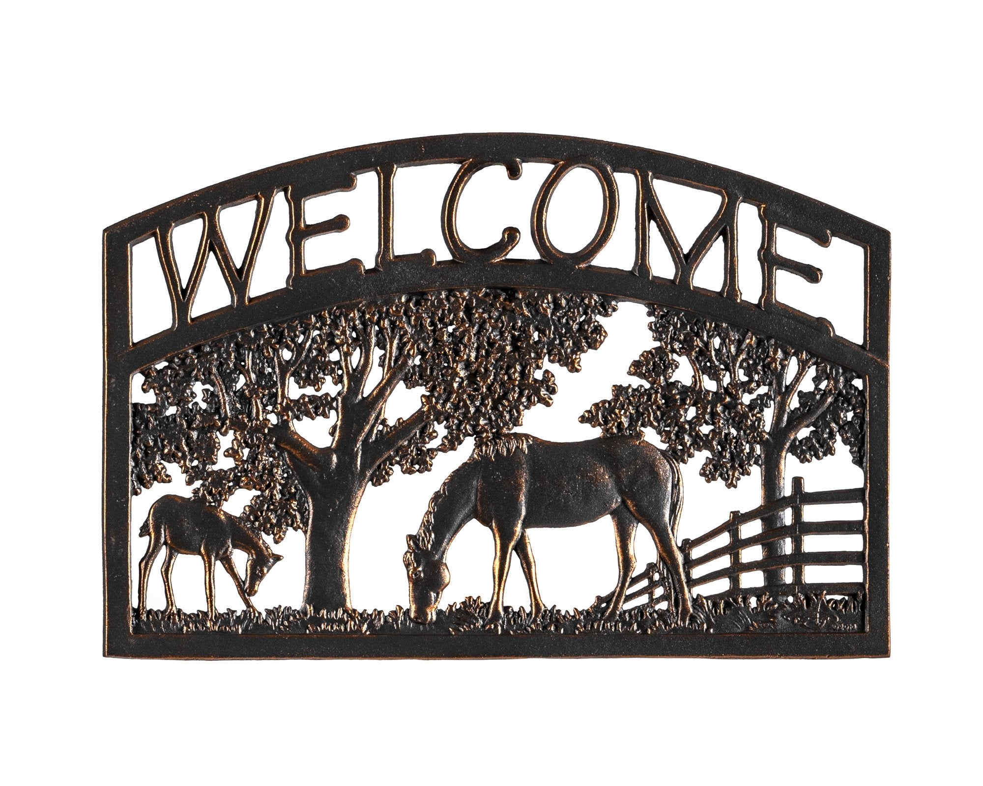 Horse Welcome Sign