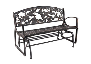 Hummingbird Glider Bench