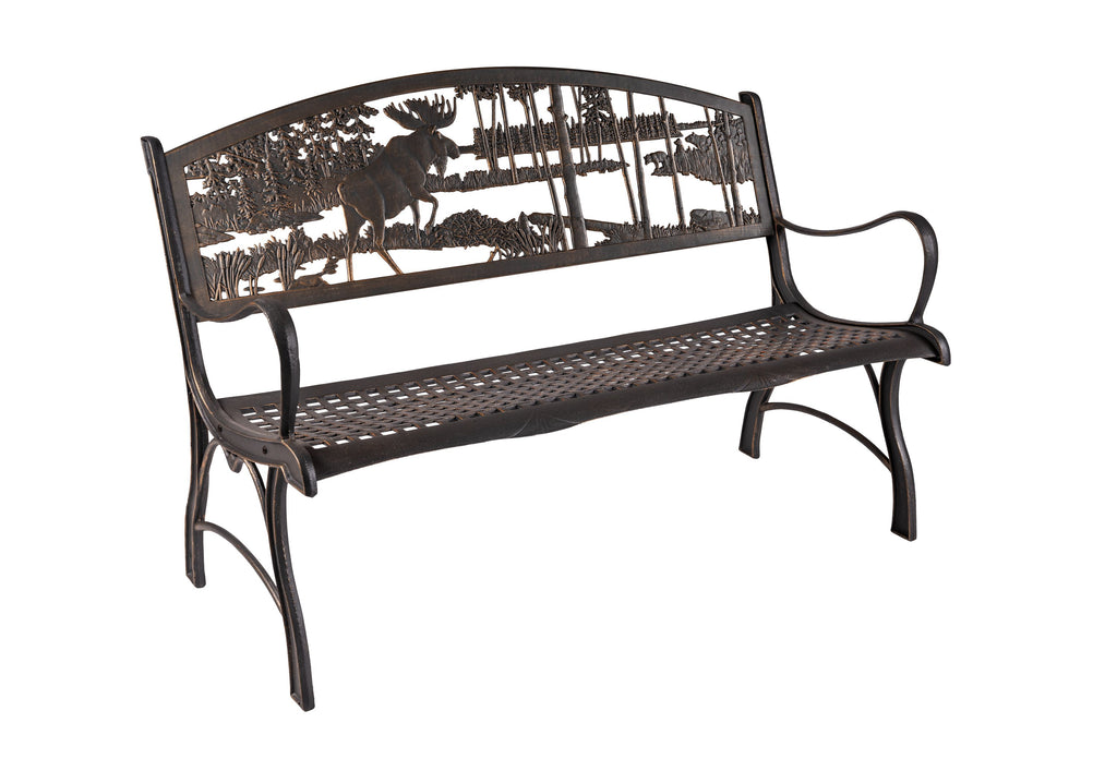 Moose and Bear Bench