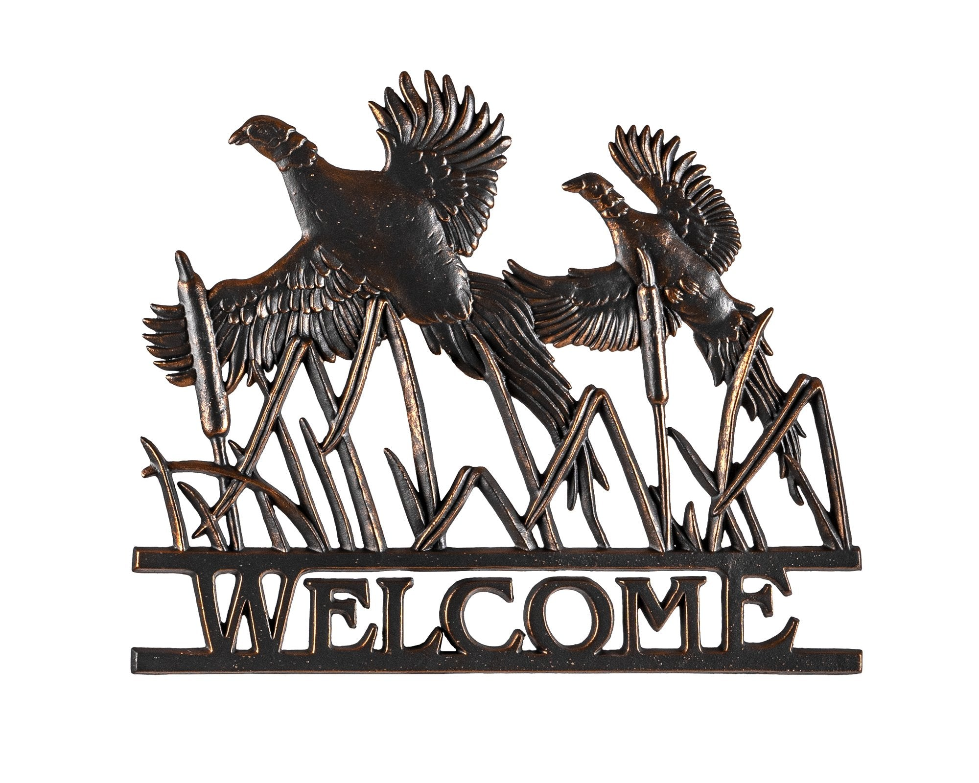 Pheasant Welcome Sign