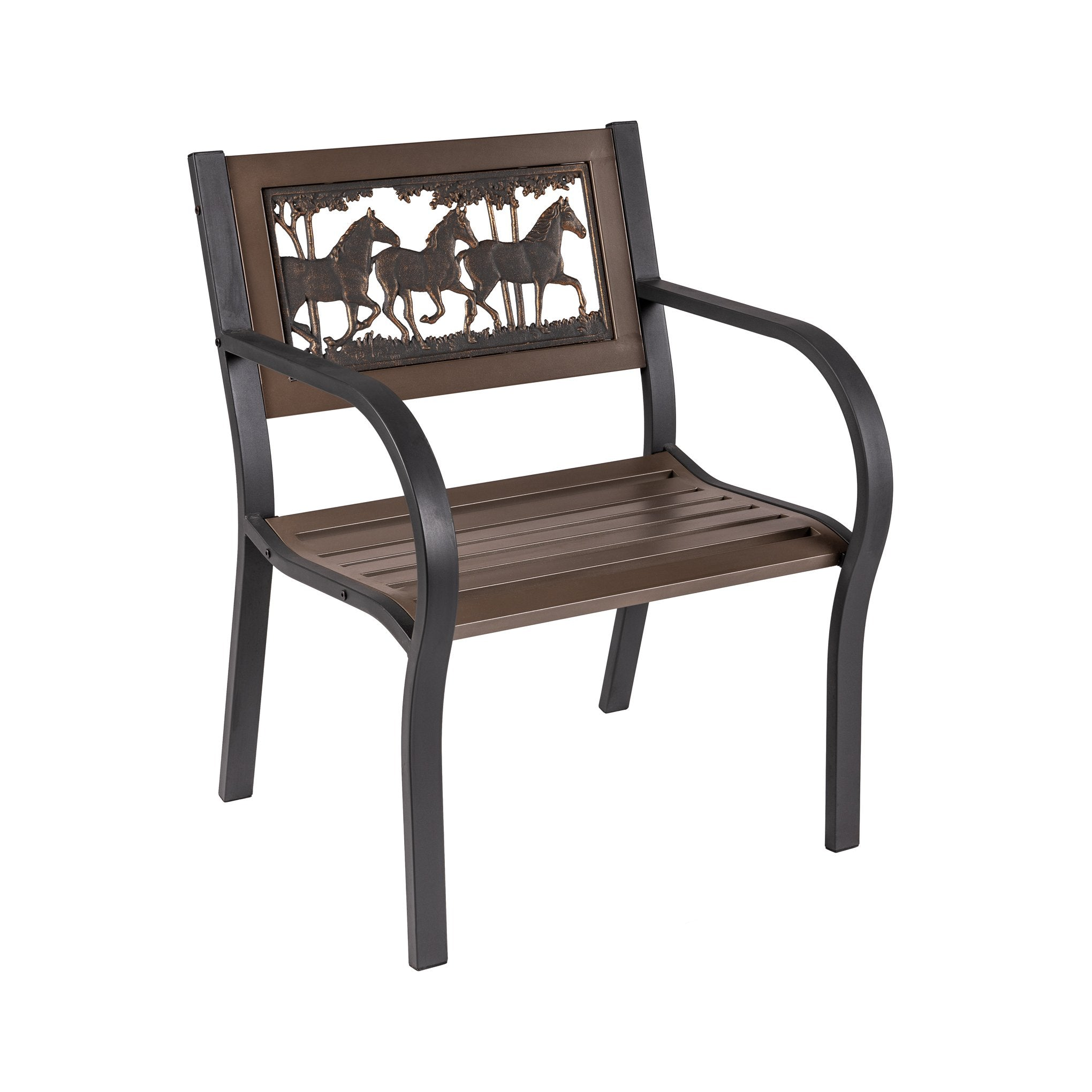 Running Horses Chair