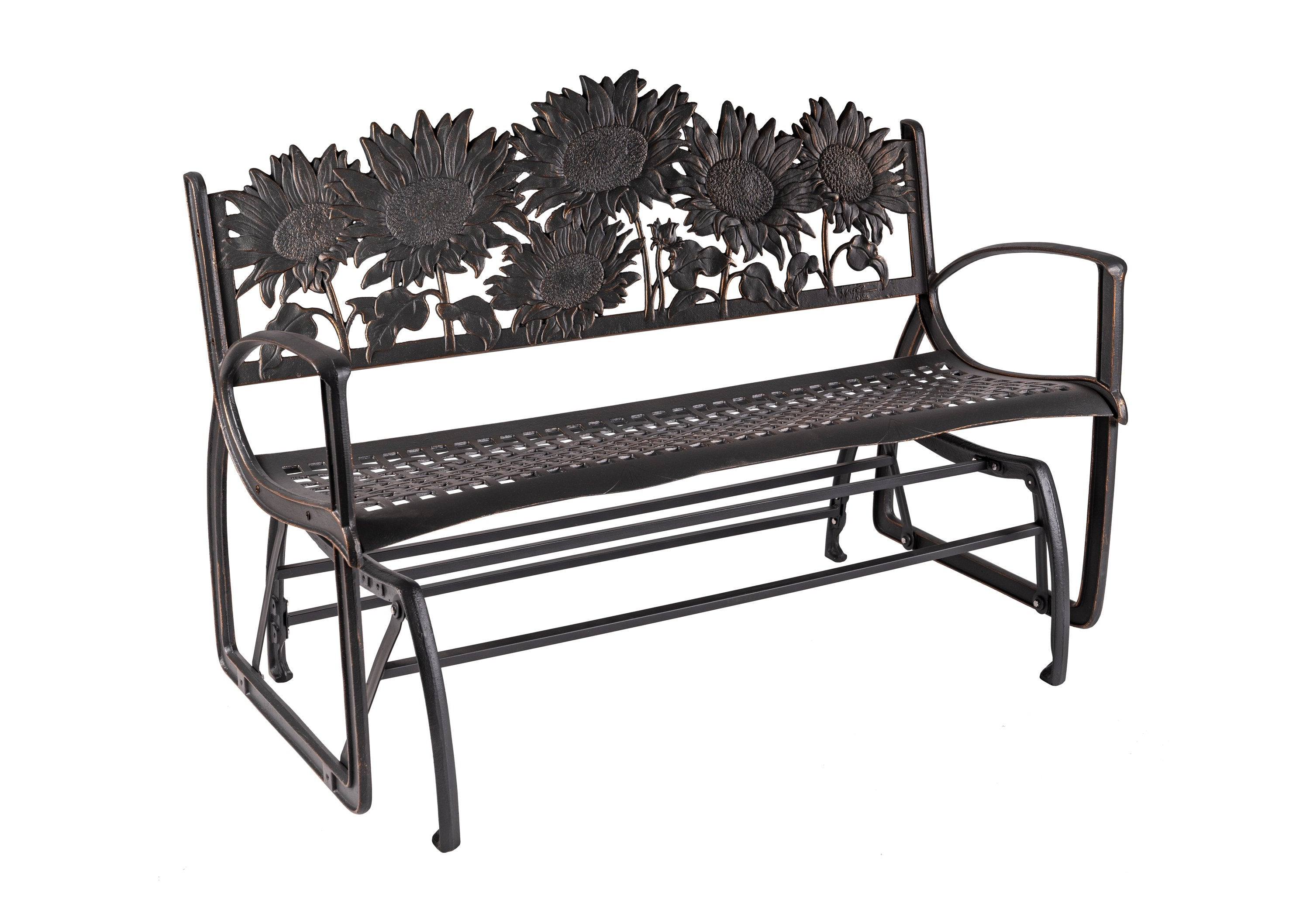 Sunflower Glider Bench