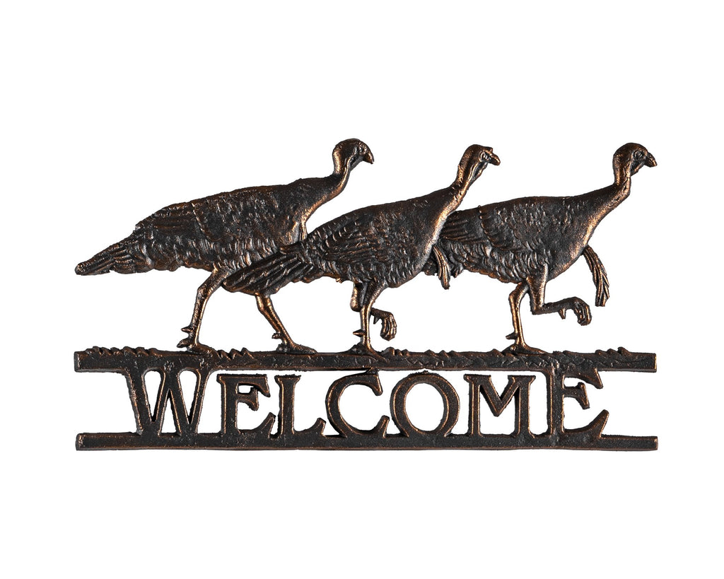 Turkey Welcome Sign