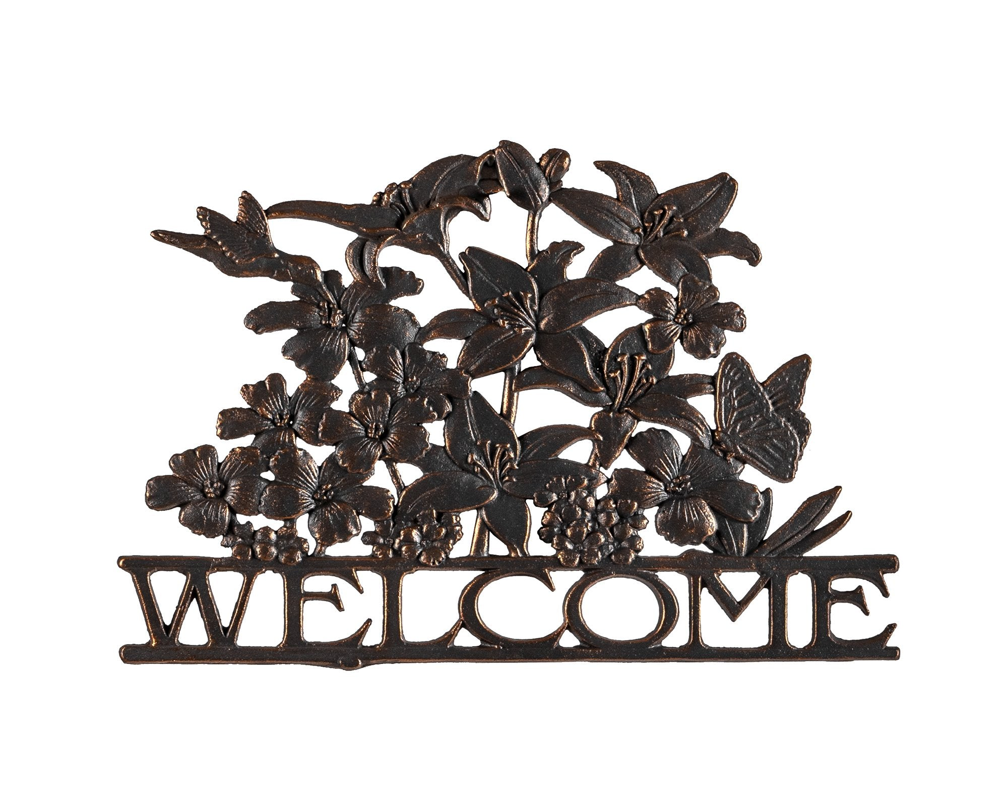 Wildflower Welcome Sign