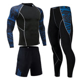 Men's compression dry tights long-sleeved T-shirt