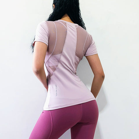 Women Fitness Shirt Yoga Running T-shirts