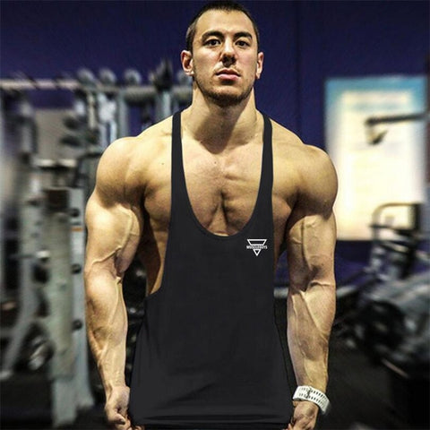 New Bodybuilding Stringer Tank Top