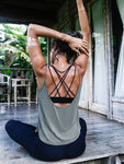 Women Breathable Yoga Top Gym Workout Tank Top