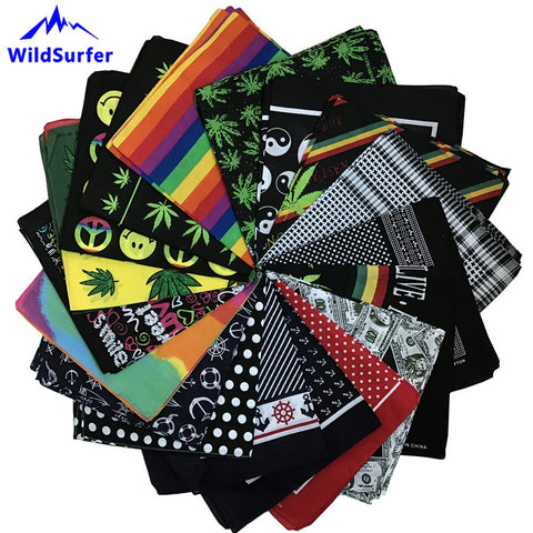 Hiphop Cotton Bandanas For Headwear