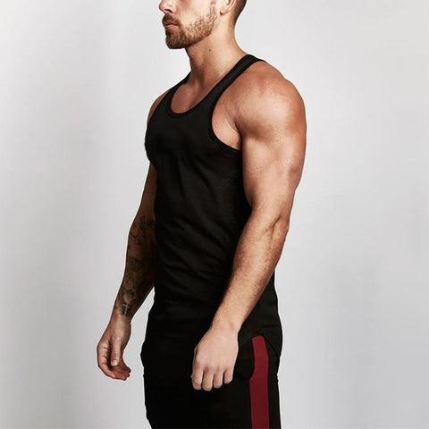 New Summer Singlets Mens Tank Tops