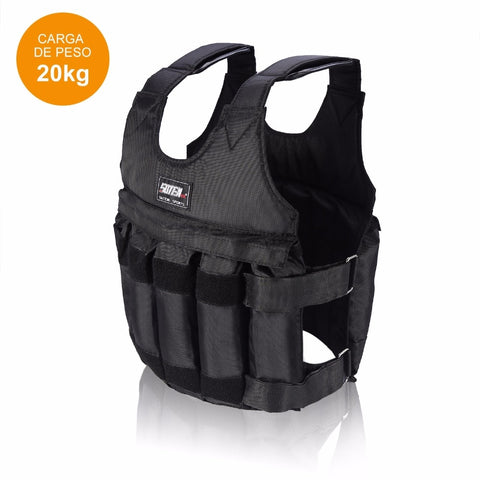 20kg - 50kg Adjustable Fitness Weighted Vest For Fitness Training