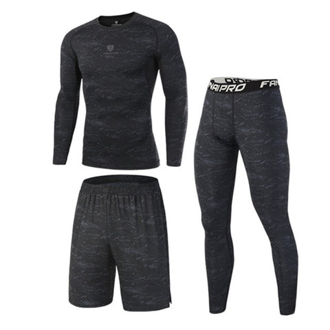 High Quality Compression Men's Sport Suits