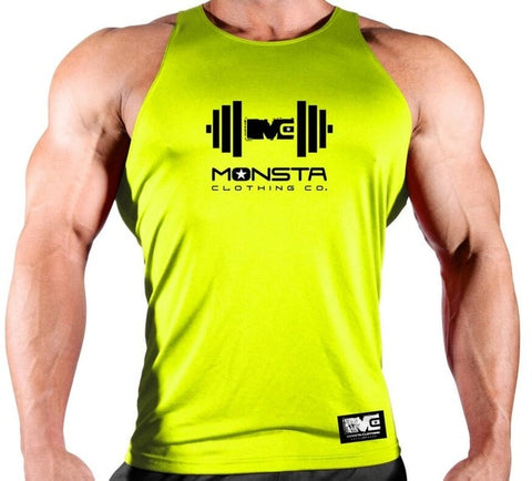 Quick drying Clothing bodybuilding Gyms tank top