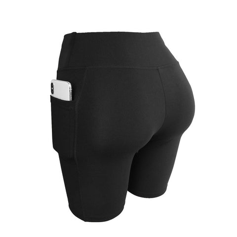 Summer Spandex Gym Soft Yoga Sport Shorts