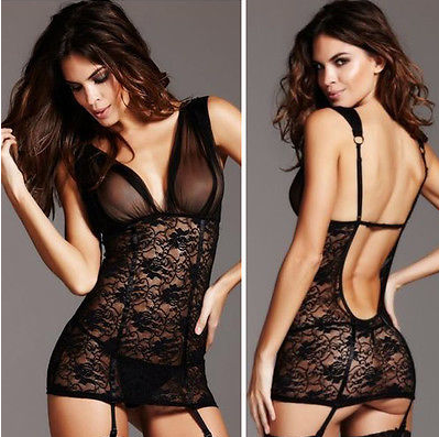 So Sexy Nightwear with Garters