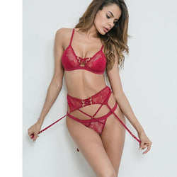 Spoil Me Three Piece Lingerie Set