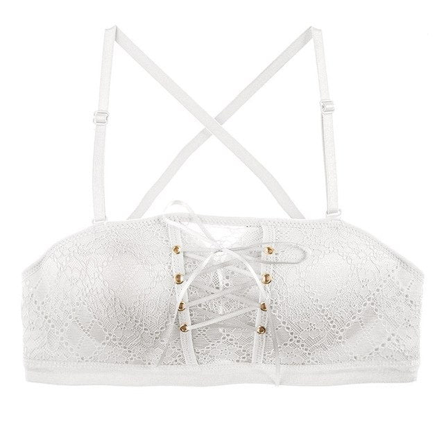 Push Up Drawstring Bra