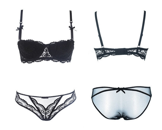 Whisper Push Up Bra + Panty Set