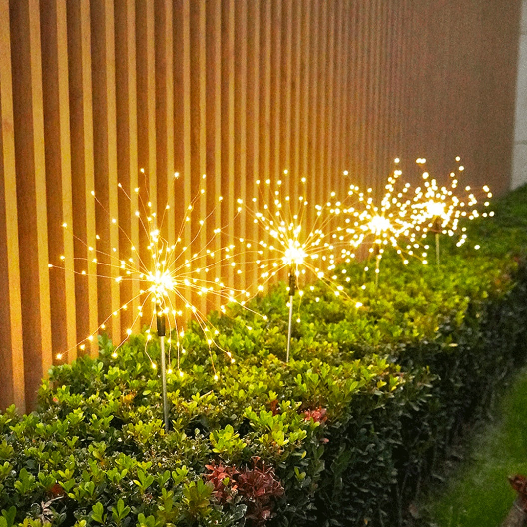 Why You Need The LUMN8™️ RGB Solar Firework Stake Light Right Now!