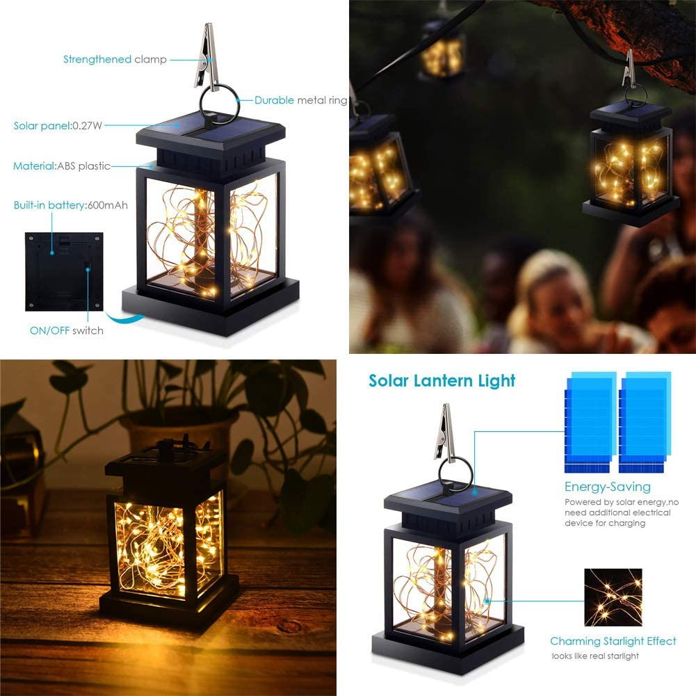 How Does The Solar Fairy Light LED Lantern Work?