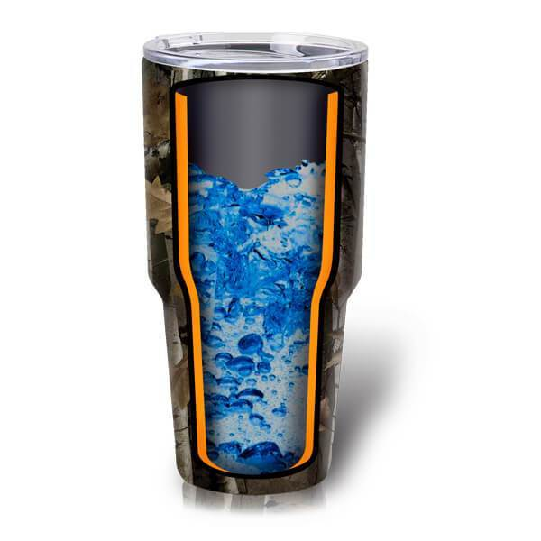 Quench 30 Oz Stainless Steel Vacuum-Insulated Tumbler (Hunter Camo) - Boundery