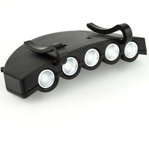 Flashlight Hat Clip Black - Boundery