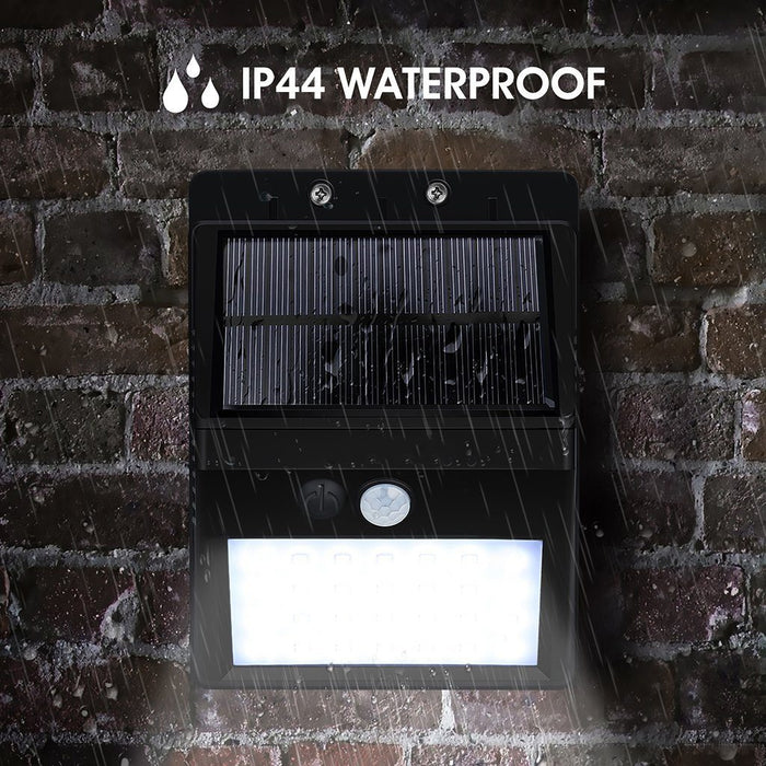 LumiGuard™ - Outdoor Waterproof Solar Sensor Motion LED Light by Boundery
