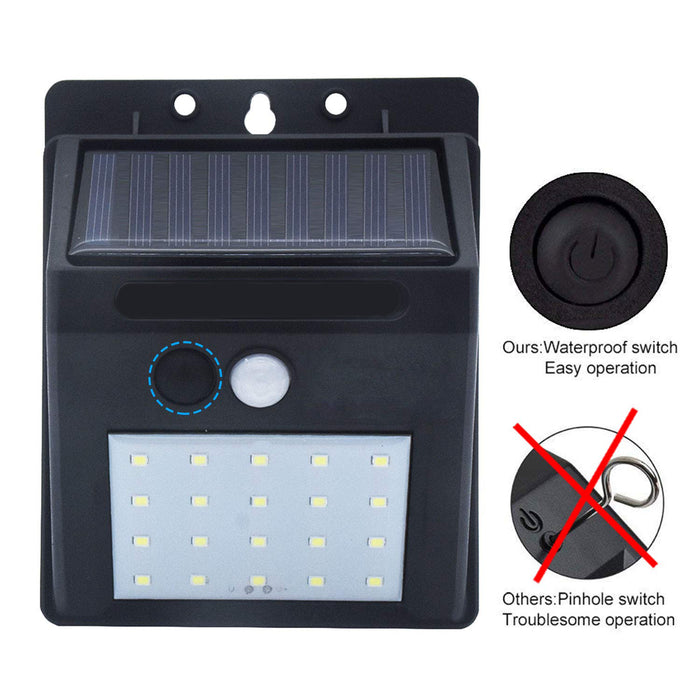 LumiGuard™ - Outdoor Waterproof Solar Sensor Motion LED Floodlight - Boundery