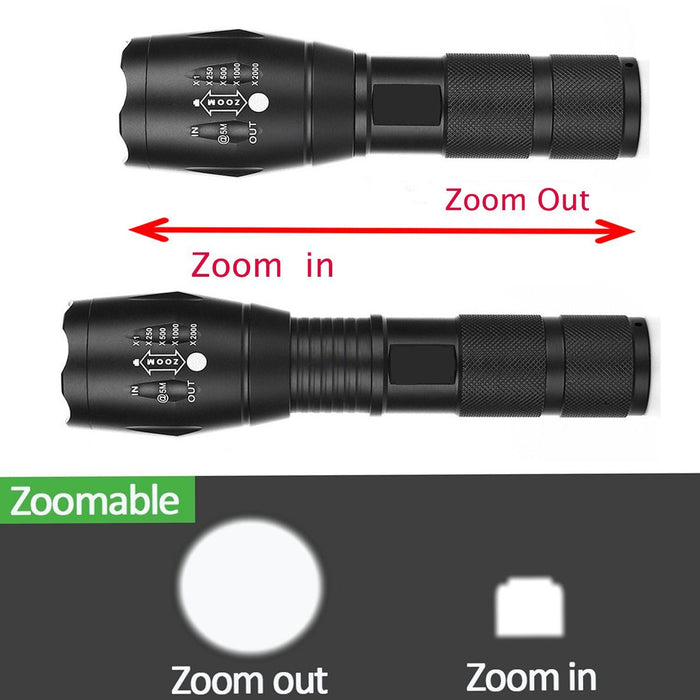 Navtac Tactical LED Flashlight