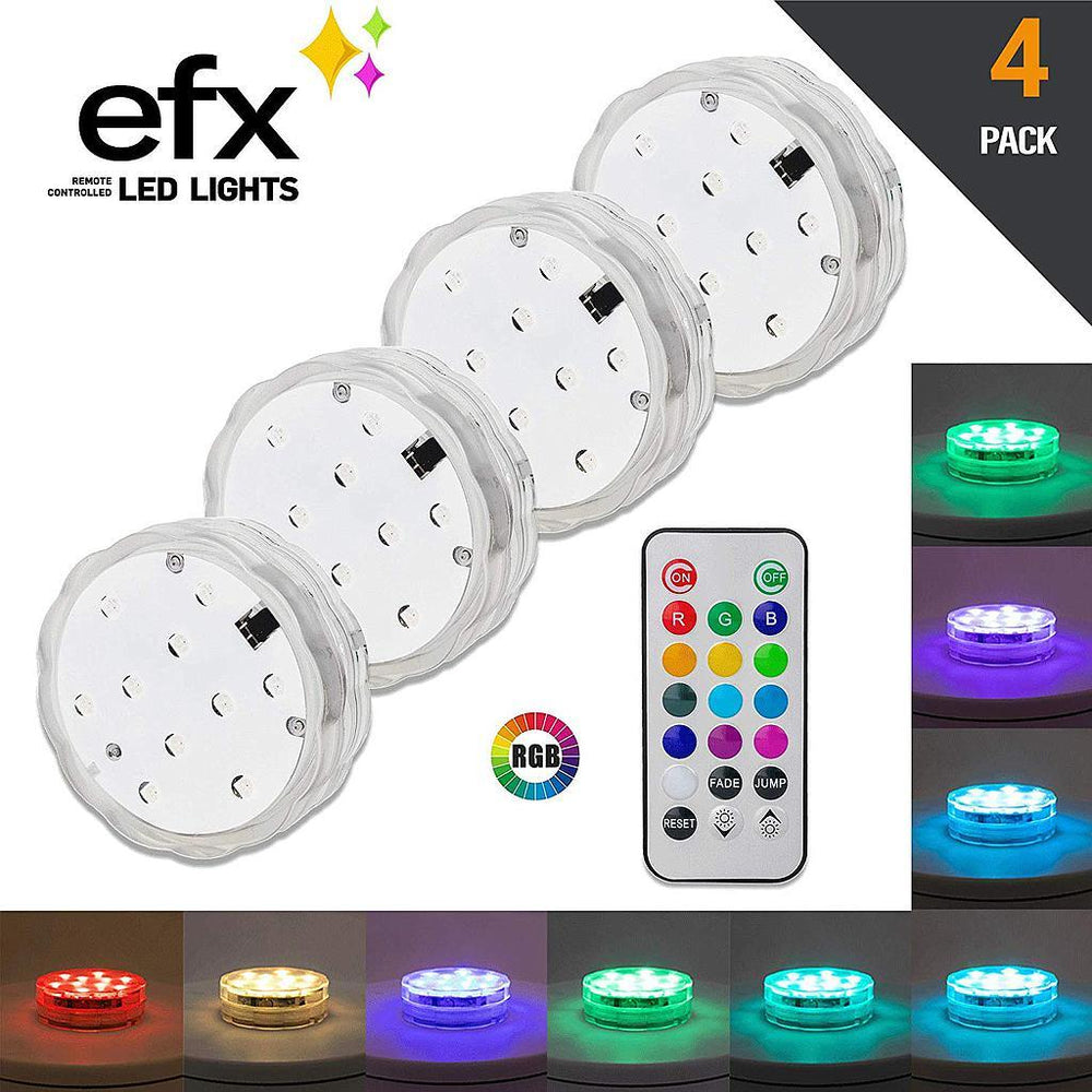 LUMN8™ EFX LED Remote Control Light - Boundery