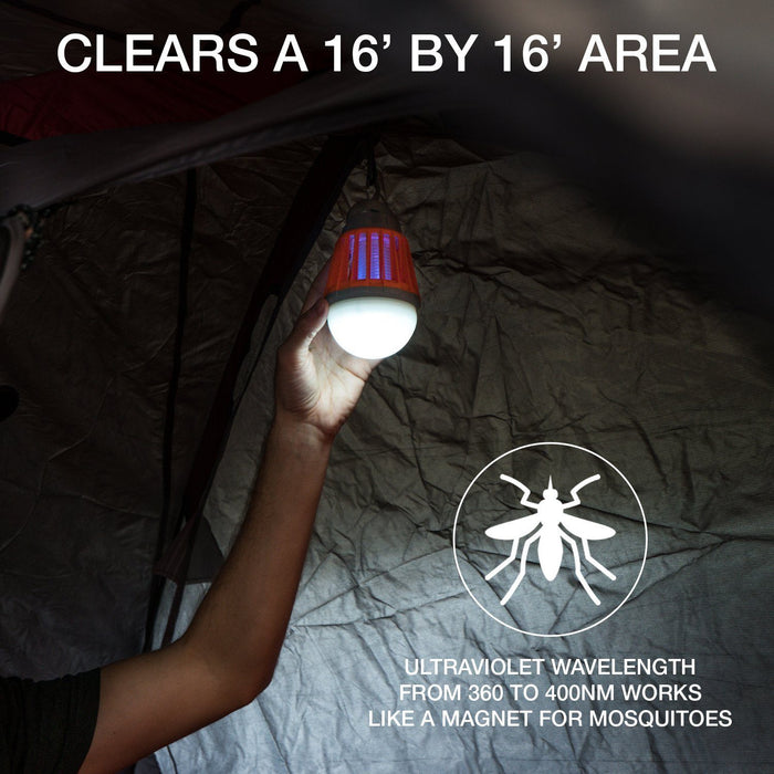 Bug Bulb 2-in-1 Camping Lantern by Boundery - Boundery