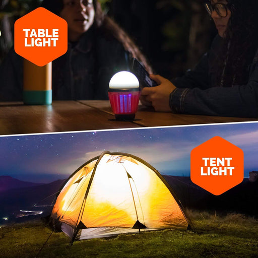 Bug Bulb 2-in-1 Camping Lantern - Boundery