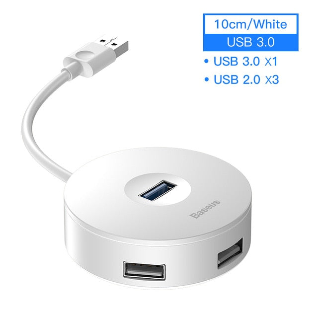 Baseus Multi USB 3.0 / Type C HUB to USB3.0 + 3 USB2.0