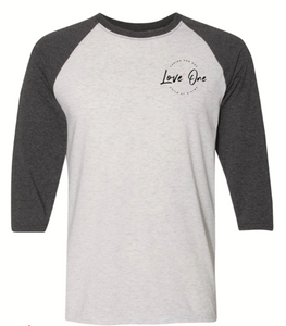 Love One Collab Baseball Tee