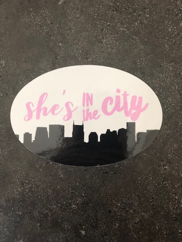 She's in the City Sticker